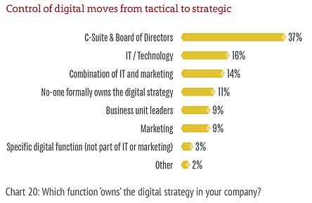 Ownership of digital strategies