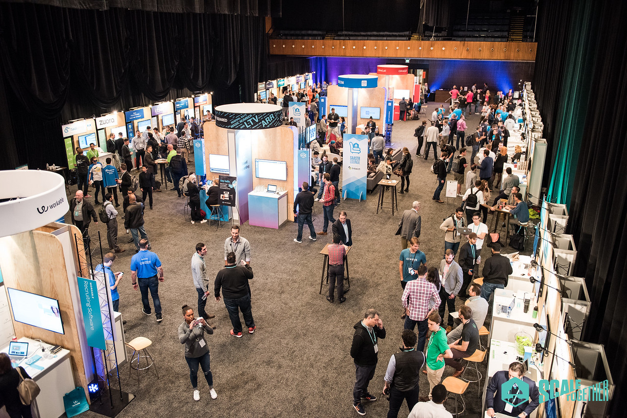SaaStr Annual 2017 Sponsor Hub Expo Hall