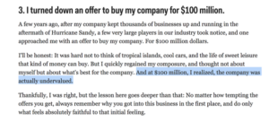 Should I Sell for $50m … Or Push On And Try to Build a Unicorn?