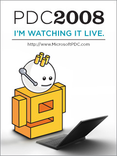 PDC 2008 Keynotes – Live Streams
