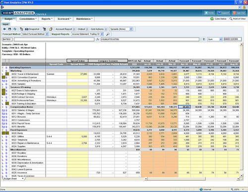 property management budget template excel