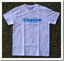 T Shirt Friday #40 – CloudCamp