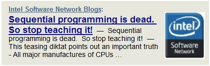 Sequential Programming is Dead. But it May Just Mean Job Security :-)