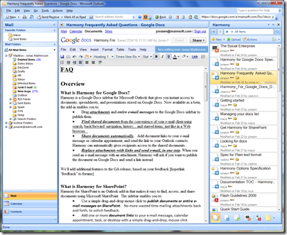 Google Docs Meets Outlook? – Yes, You Read That Right!