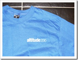 T Shirt Friday #48 – Altitude 2010