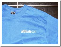T Shirt Friday #48 – Altitude 2010