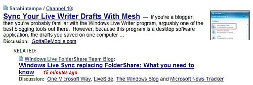 Live Mesh or Live Sync?  Microsoft's Branding Problem (One of Many).