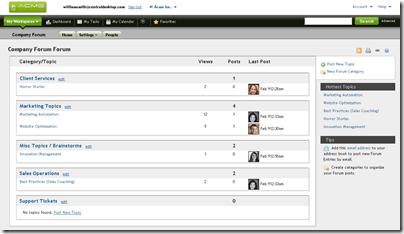 central-desktop-forums