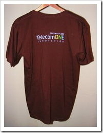 T-Shirt Friday #18 - TelecomONE