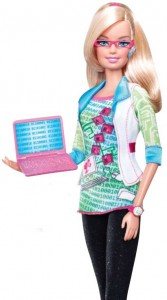 Welcome Computer Engineer Barbie