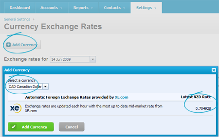 Xero Releases Multi-currency and First Hint of Tiered Pricing