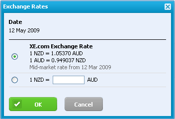 xero how to set earning rate