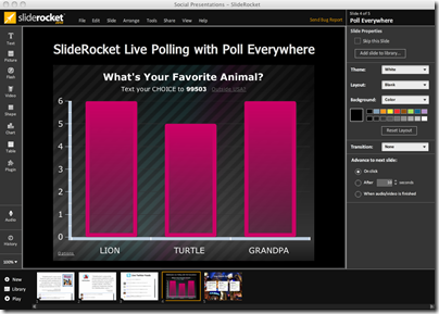 SlideRocket Brings the Real Time Web to Presentations