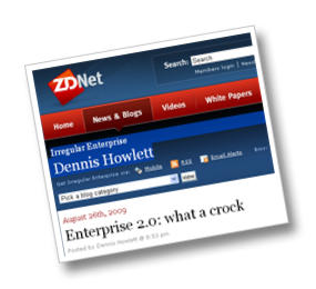 Is Enterprise 2.0 A Crock? The Practitioners Answer....