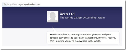 Xero Now Hosted by MYOB