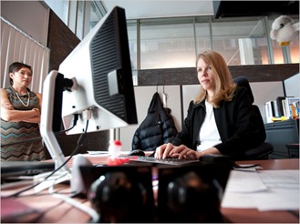 Woman in High Tech & The New York Times Out of the Loop