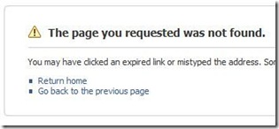 FaceBook Says I've Expired