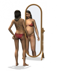 weight loss mirror