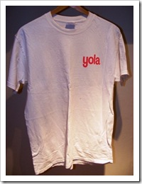 T-Shirt Friday #3 - Yola