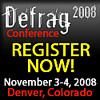 Come to Defrag:  Denver, November 3-4.