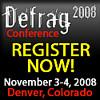 Come to Defrag:  Denver, November 3-4.