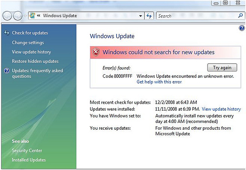 Patch Tuesday: Monster Windows Update DOA