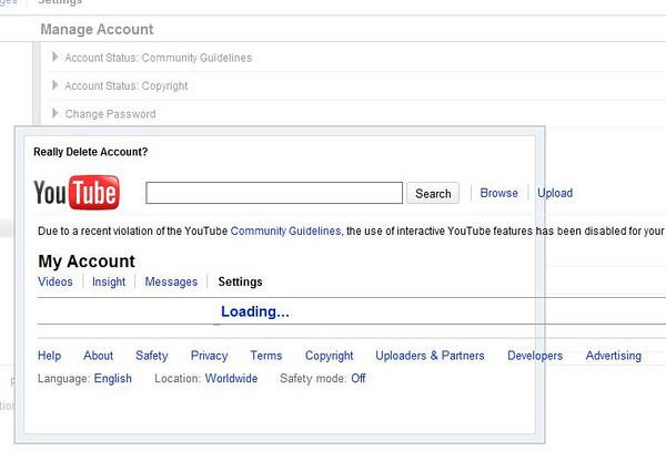 Interactivity Dead on YouTube